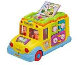 ToyThrill Developmental School Bus Musical Toy