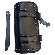 Leather Motorcycle Tool, Handlebar Bag