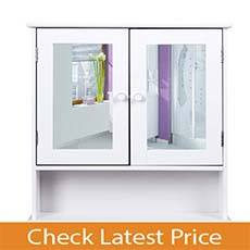 HOMFA Bathroom Wall Cabinet