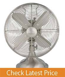 "Hunter 90400 12"" Metal Table Fan"