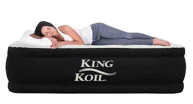 Air Mattress King Size – Inflatable Beds For Home, Camping and Outdoors