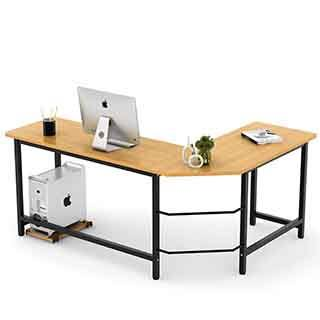 Tribesigns L-Shaped Corner Computer Desk