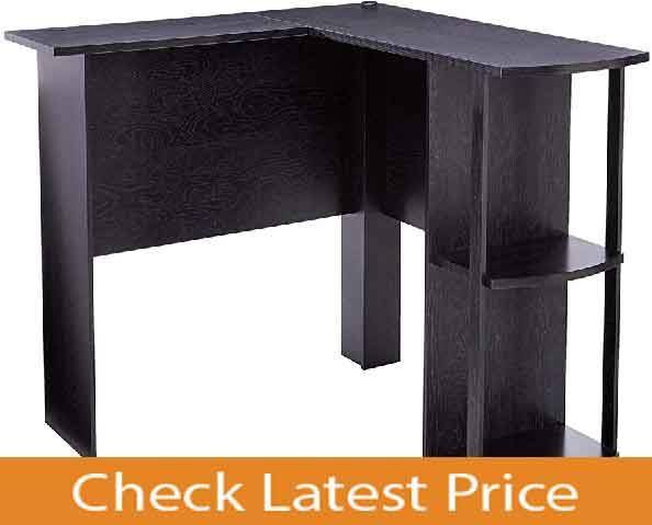 Ameriwood Cheap L-Shaped Desk For Computer