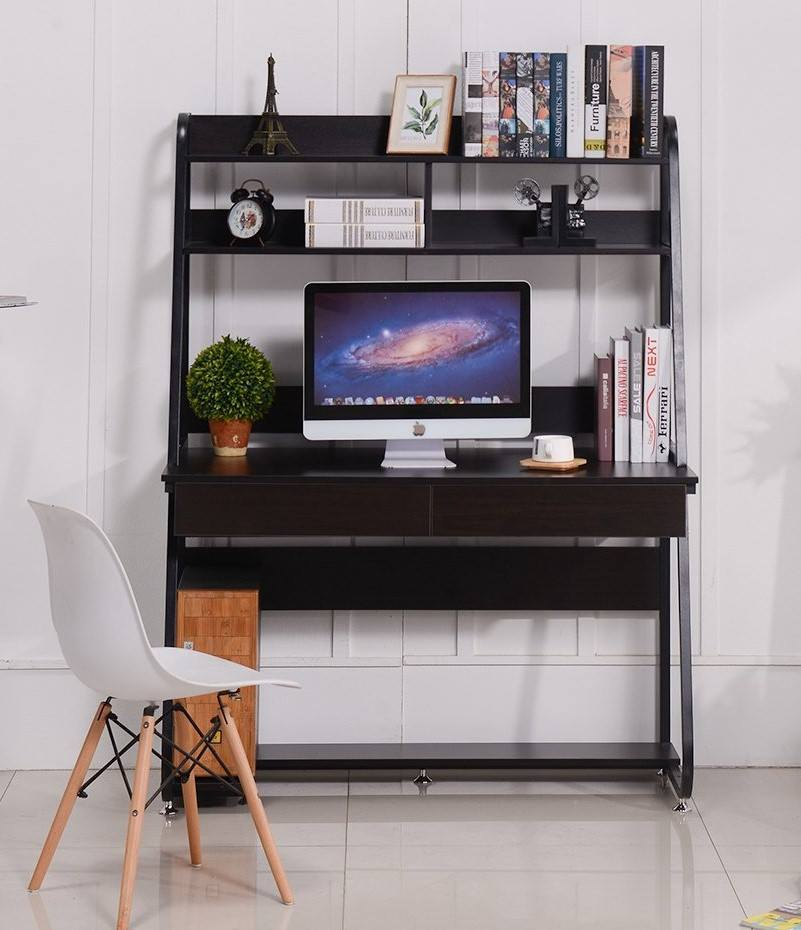 gaming desk with drawers