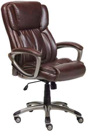 Serta Works Best Leather Office Chair