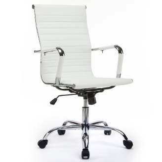 GTRACING Ribbed Office Desk Chair Modern Conference Chair
