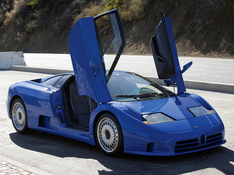 1992 Bugatti Eb 110 Gt Specifications Photo Price