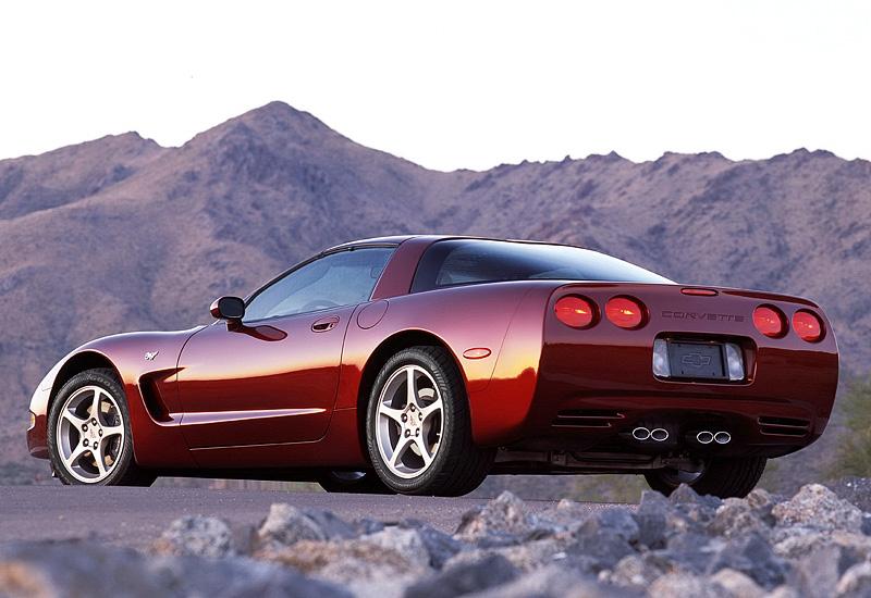 2003 Chevrolet Corvette Coupe 50th Anniversary Specs