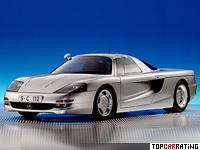 Mercedes-Benz C112 Concept 6 liter V12 RWD 1991