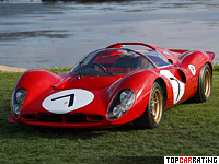 Ferrari 330 P4 4 litre V12 RWD 1967