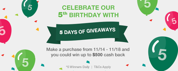 TopCashback Birthday