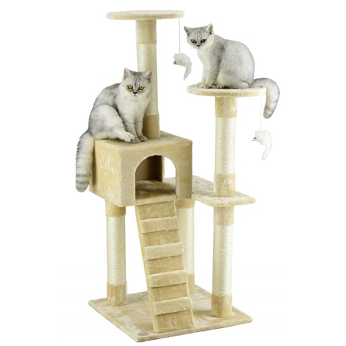 Best Cat Tree Under $100 - Go Pet Club Cat Tree
