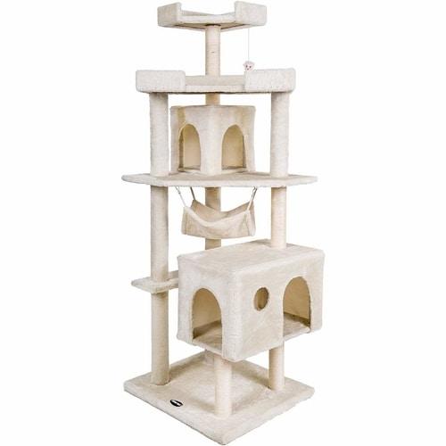 Best Cat Tree Under $100 - Merax Cat House Activity Tree