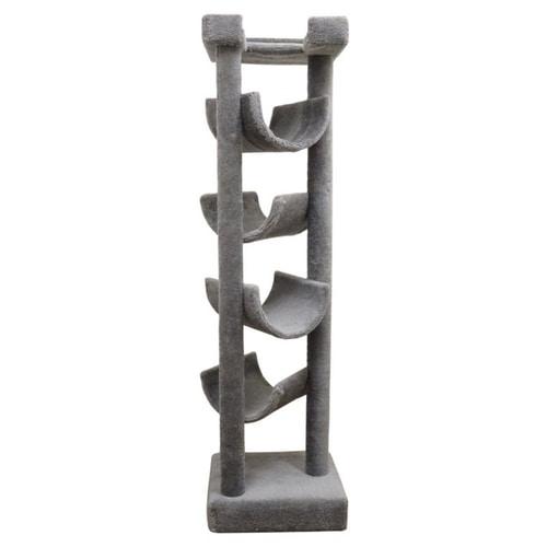 Best Cat Trees Above $200 - New Cat Condos Premier Solid Wood Skyscraper Cat Tree
