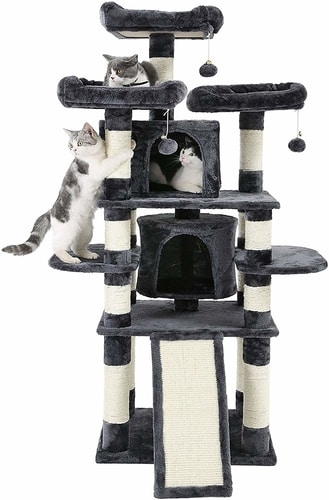Best Cat Tree For Large Cats - Feandrea Multi-Level Cat Tree