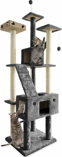 Best Cat Condo For Two Cats - FurHaven Pet Cat Tree