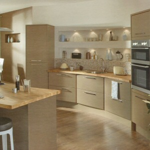 Swedish Kitchen Design Ideas With White Cabinetry Also Black Panel Appliances Brick Wall Decoration