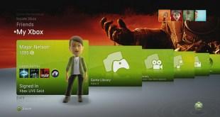 Xbox actualizacion dashboard