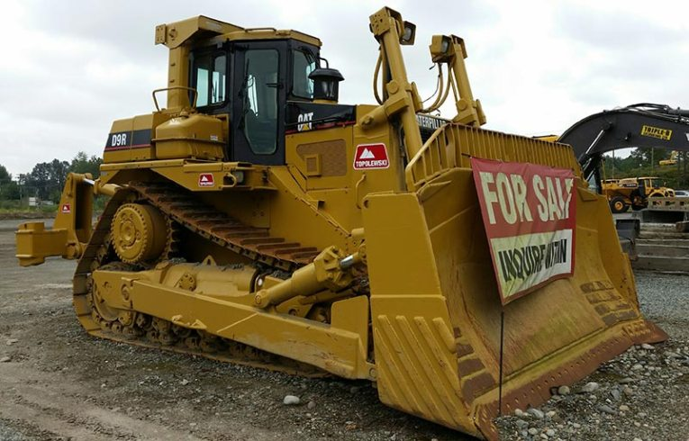 Topolewski America Inc    Topcor   For Sale Caterpillar D9R