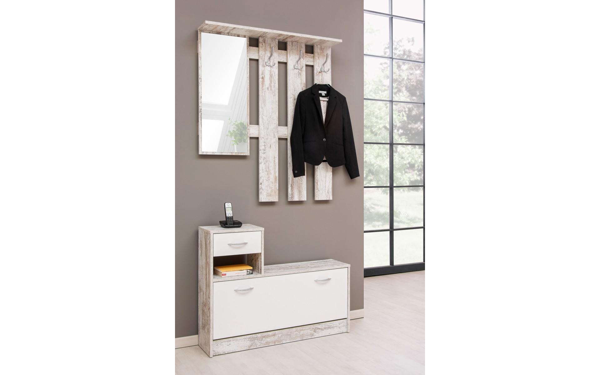 meuble d entree vestiaire miroir