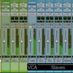 Pistes VCA-Pro Tools