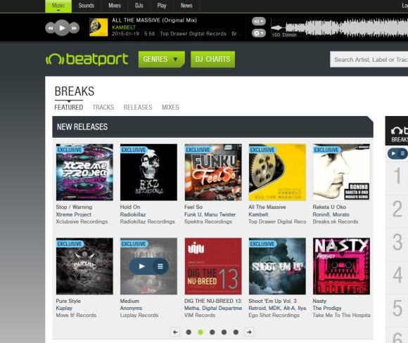 KamBelt – All The Massive Featured Beatport Breaks