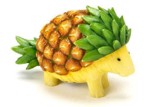 Hedgehog Pumpkin Carving Ideas