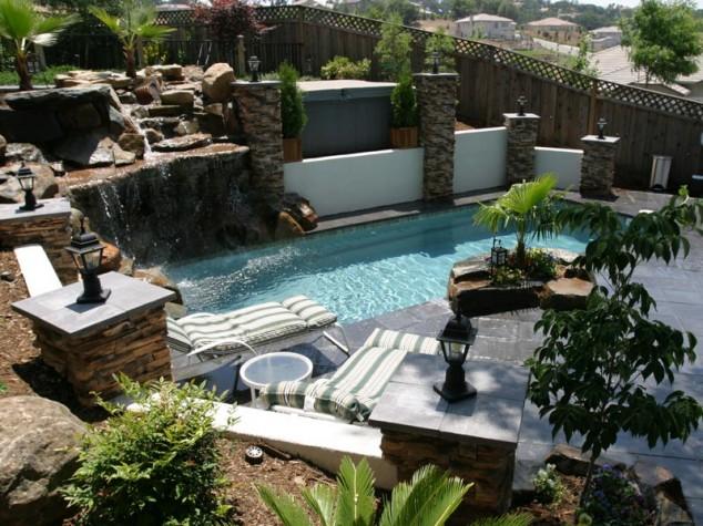 25 Ideas for Decorating Backyard Pools on Backyard Pool Decor Ideas id=58773