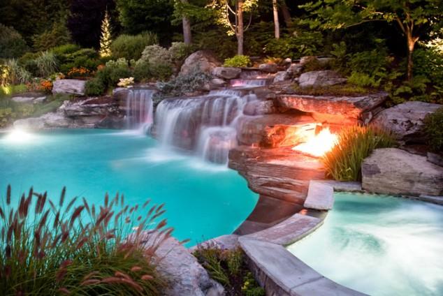 25 Ideas for Decorating Backyard Pools on Backyard Pool Decor Ideas id=29860