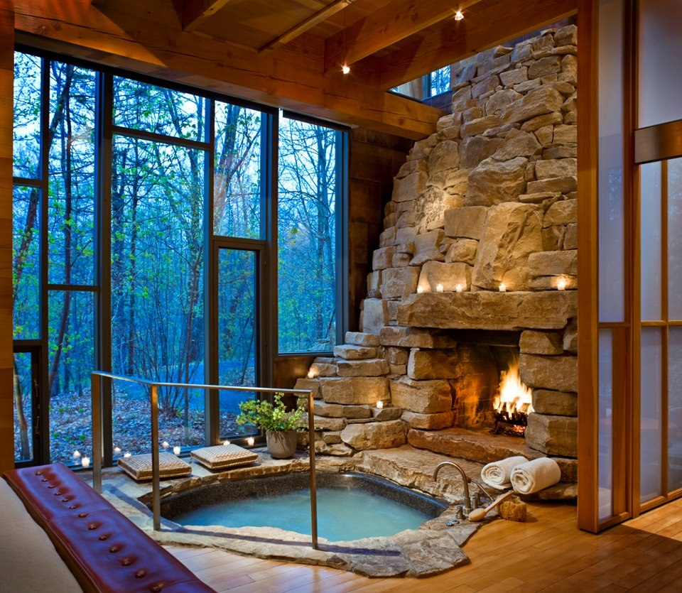 Impressive Interior Design for Wooden Houses on House Interior Ideas  id=35912