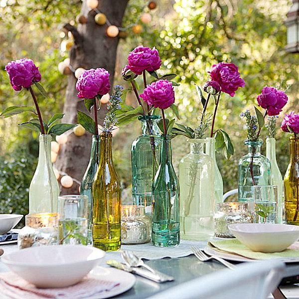 10 DIY Table Decorations on Backyard Table Decor id=96318