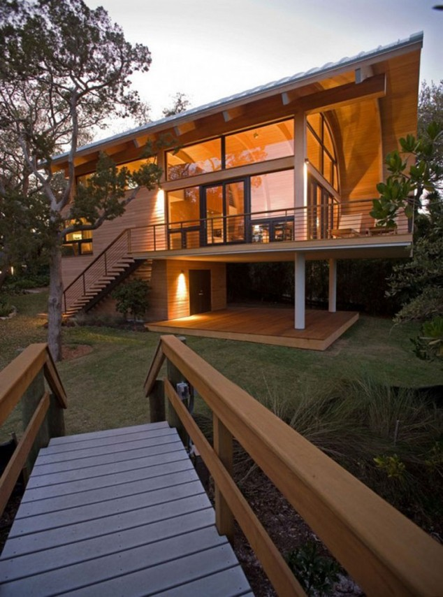 15 Contemporary Wooden House Designs on Backyard:uuezyx-Hy-8= Landscape Design  id=85184