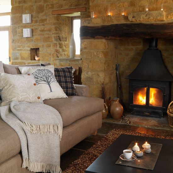Cosy Country Living Room Ideas Home Mansion