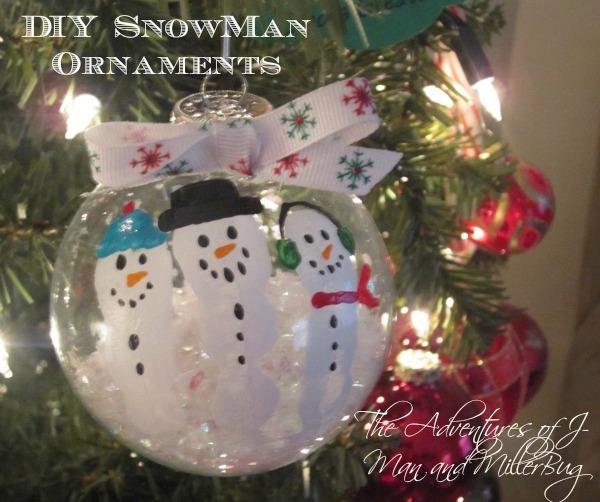 25 Interesting Diy Snowman Ornaments