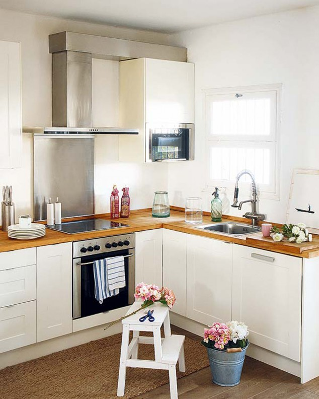 17 Cute Small Kitchen Designs on Small Space:fn118Lomvuk= Small Kitchen Ideas  id=50177