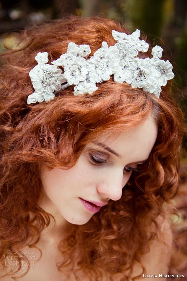 Olivia Headpieces Bridal Accessories 2014