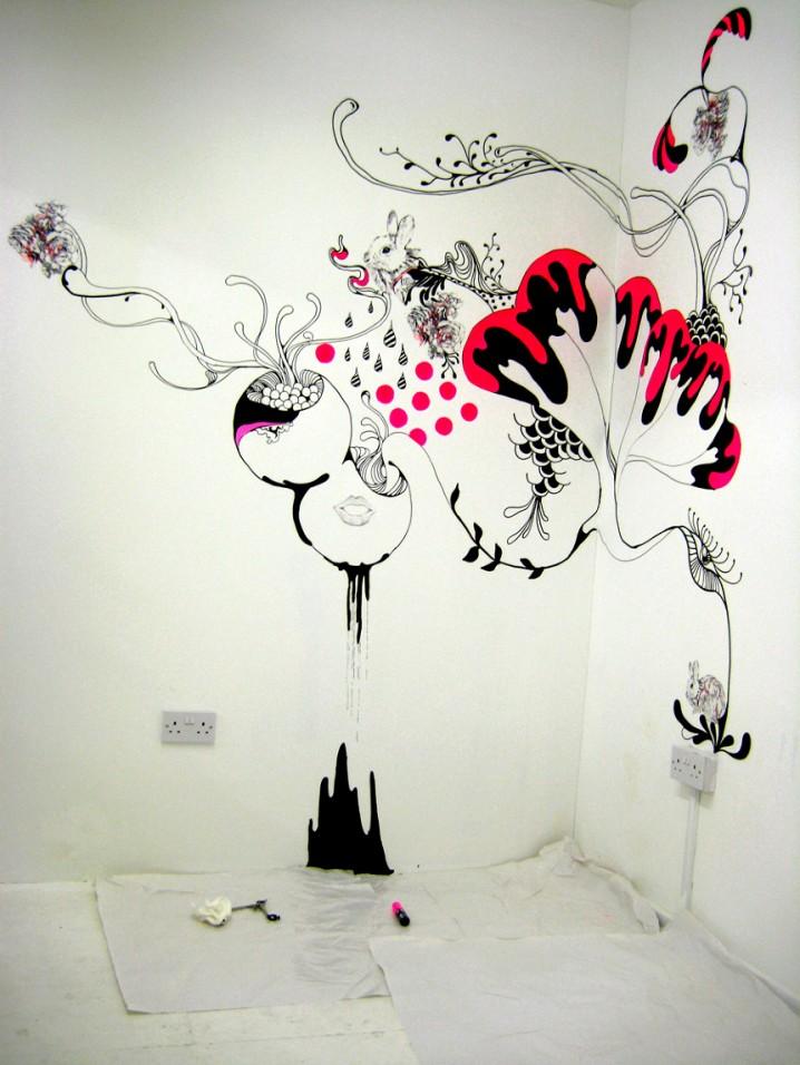 Creative DIY Wall Art Decoration Ideas on Creative Wall Ideas  id=94388