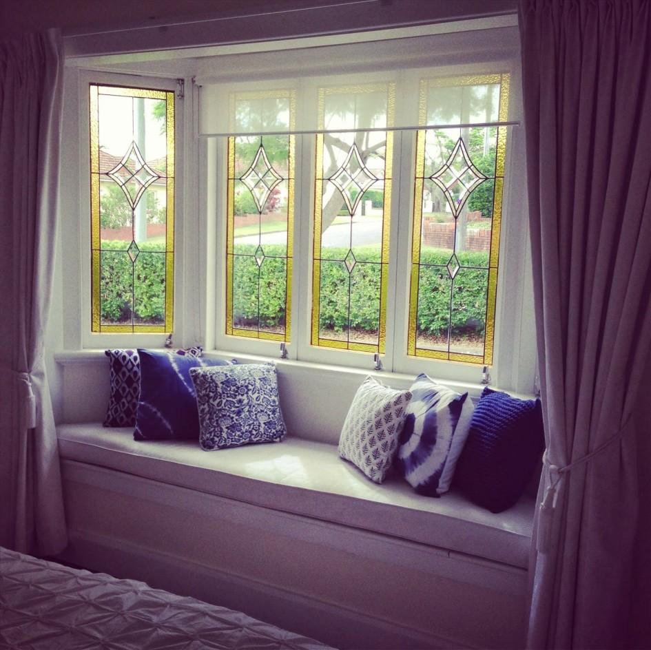 title | Under Bay Window Decoration