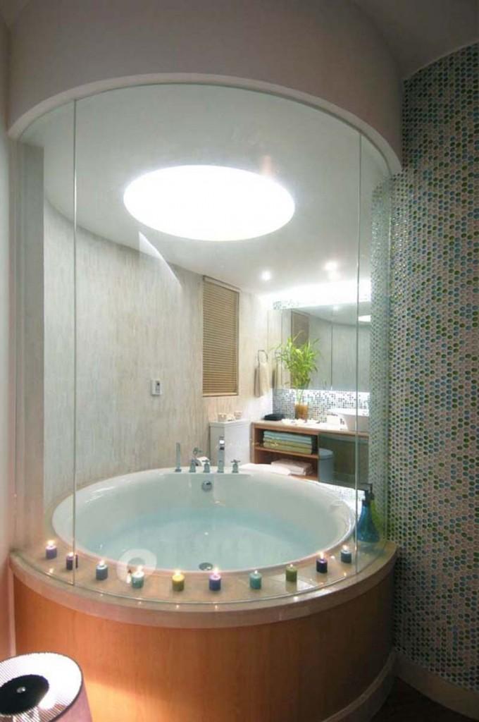 Great Bathroom Designs With Round Bathtubs