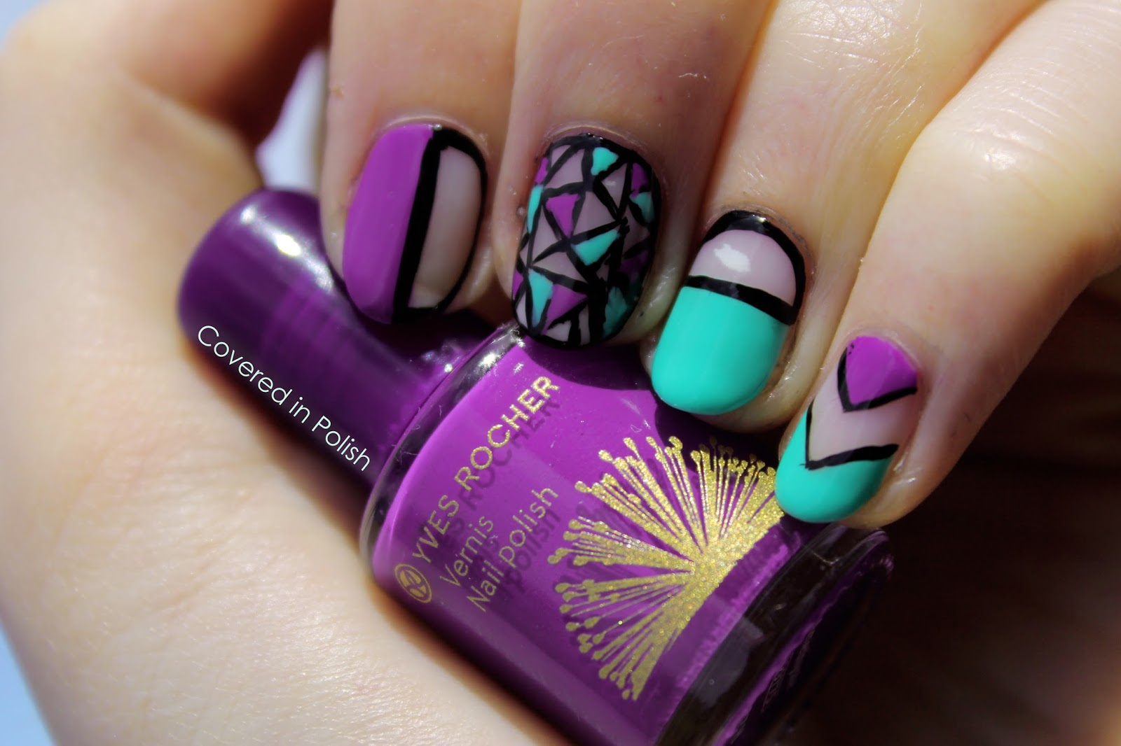 Interesting Negative Space Nail Designs