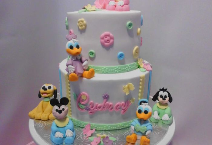 Fabulous 1st Birthday Cake For Baby Girls