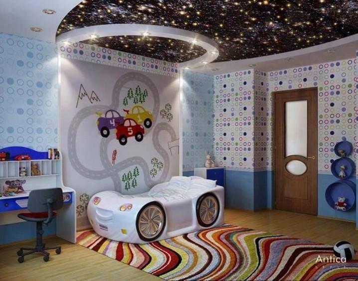 Eye Catching Kids Bedroom Ceiling Designs