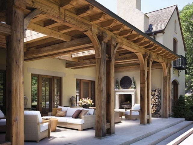 Magnificent Covered Patio Designs For Memorable Spring And ... on Backyard Porch Ideas id=59672
