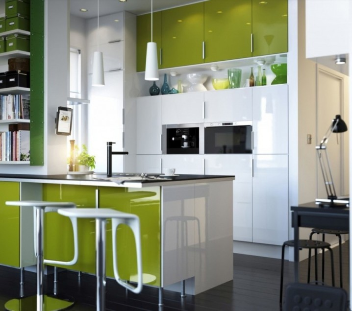 16 Modern Small Kitchen Designs on Small Space:fn118Lomvuk= Small Kitchen Ideas  id=37547