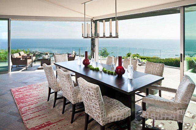 15 Wonderful Modern Dining Rooms With A View