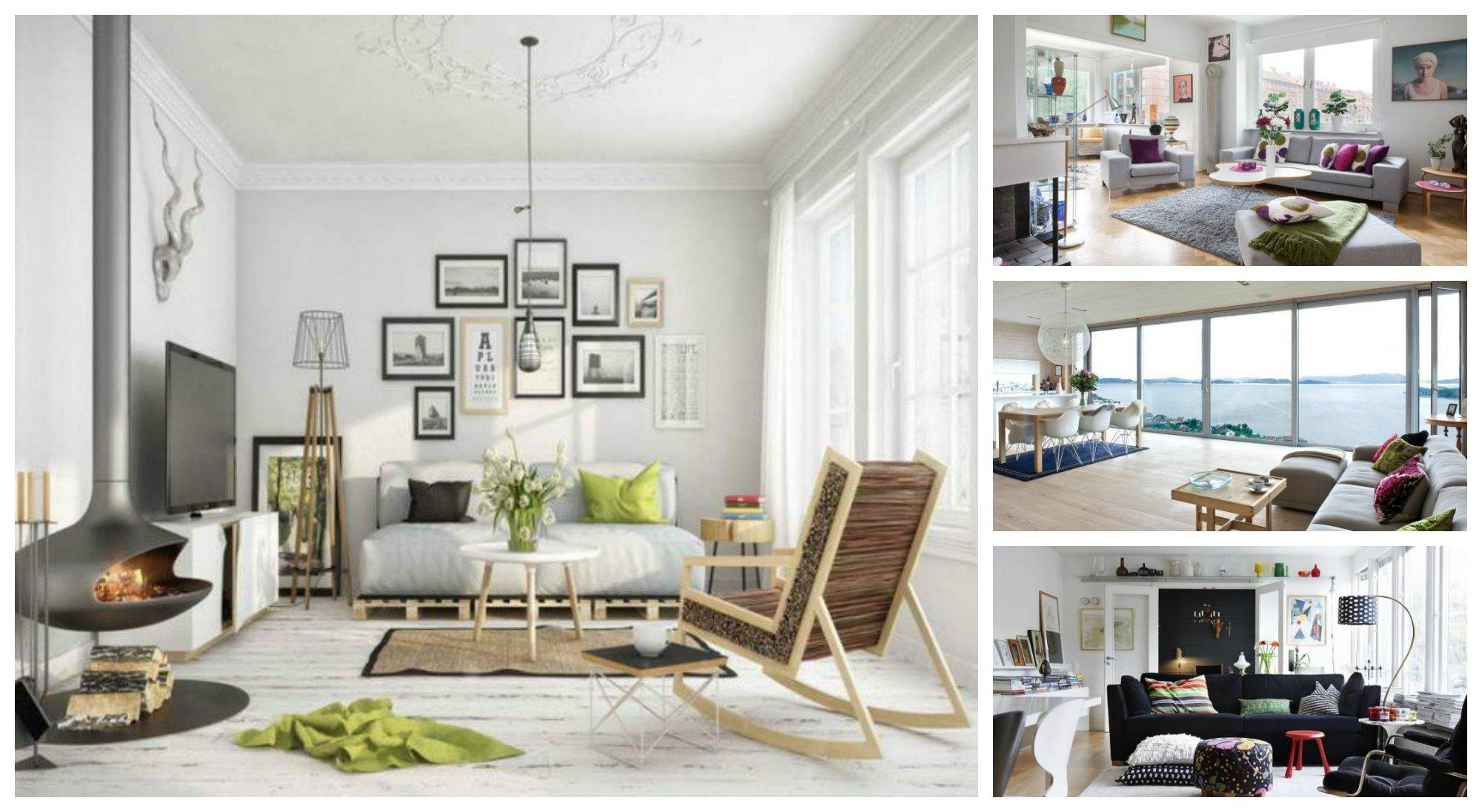 Stunning And Chic Scandinavian Living Room Designs