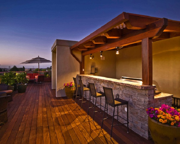 15 Modern Outdoor Bars For Your Utmost Summer Relaxation on Outdoor Bar Patio Ideas id=86182
