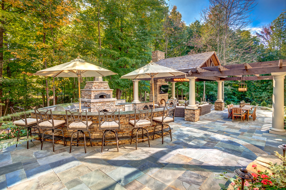 Luxury Covered Patio Decor
