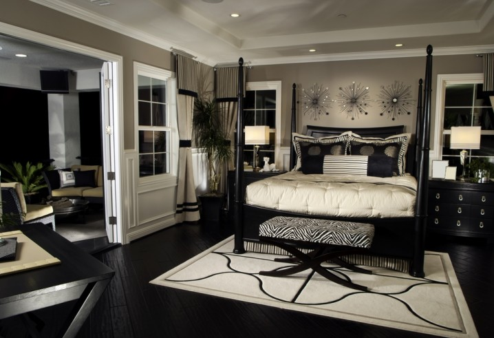 bedrooms with dark furniture that will fascinate you