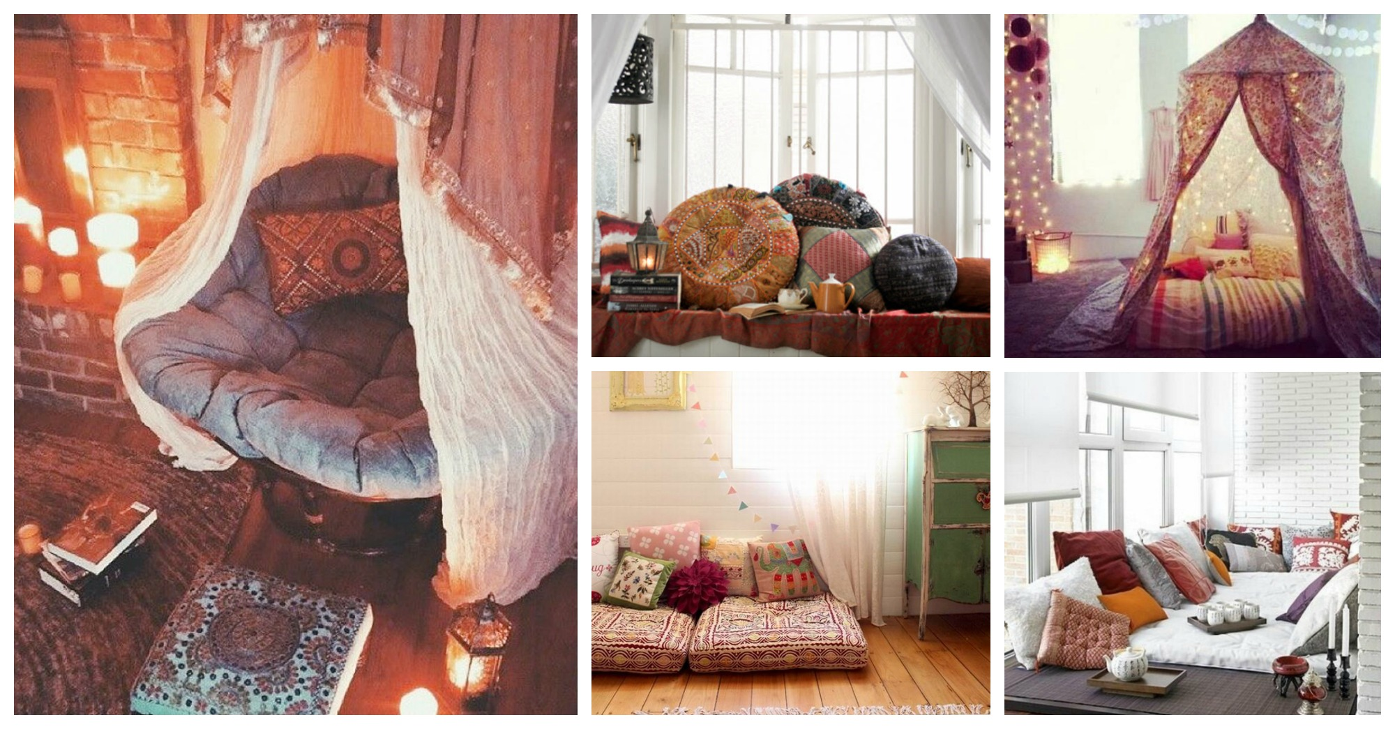 Inspiring Bohemian Reading Nooks That You Will Love